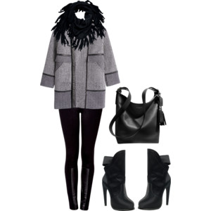 winter leather look dream