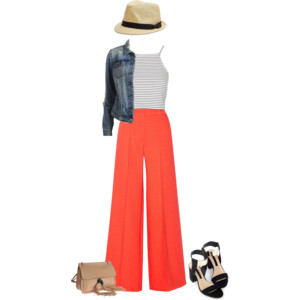 summer fun wide pants